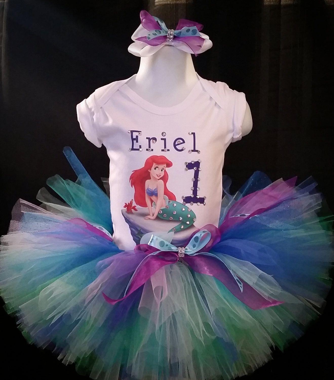 mermaid tutus,birthday tutus,tutus,little mermaid Mermaid tutu