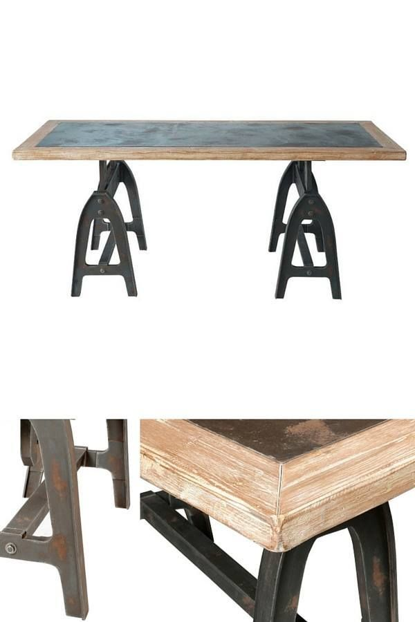 Table Industrielle Selection Shopping Table Industrielle Table Table Et Chaises