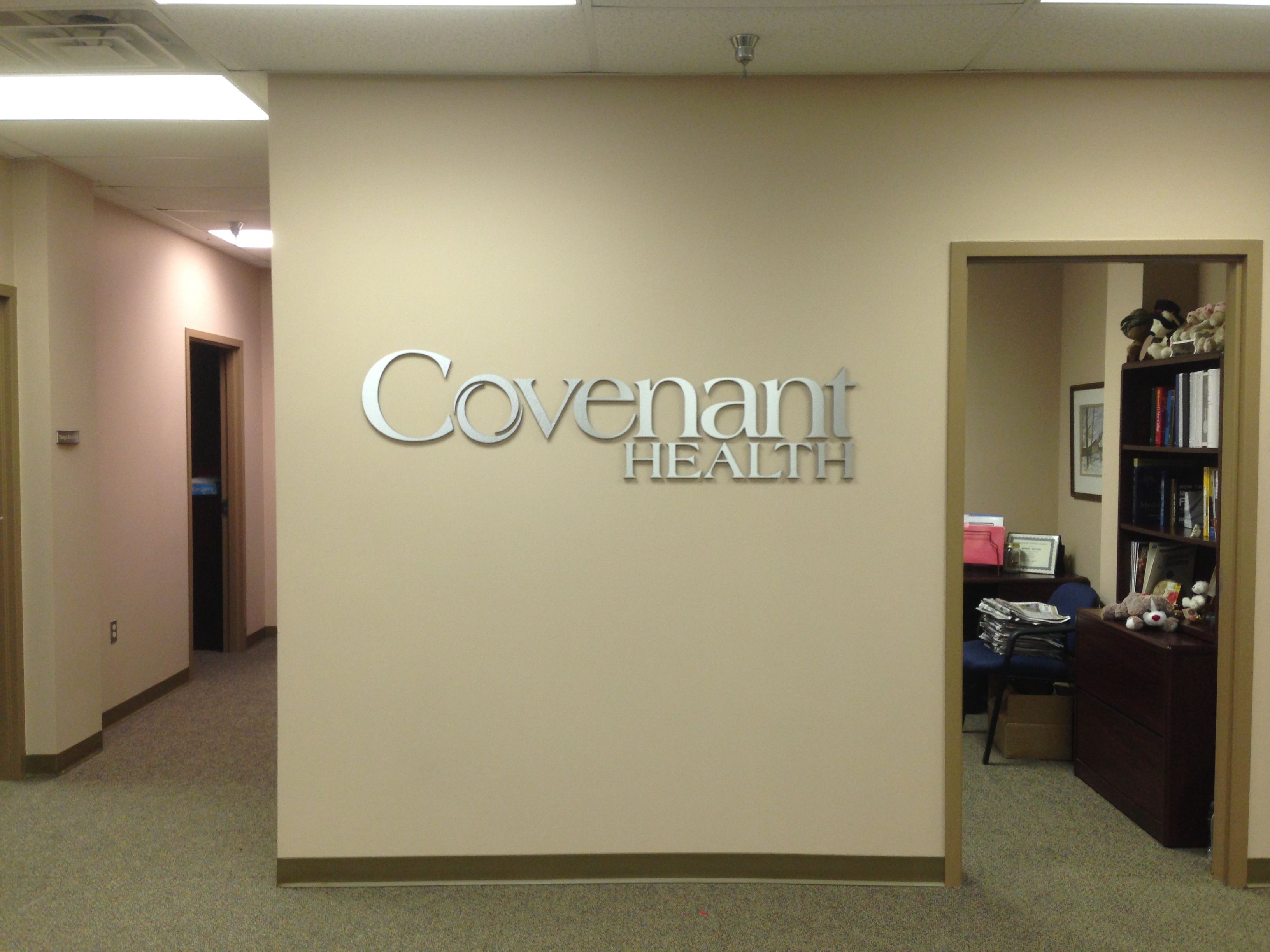 Covenant Health Wall Lettering Knoxville Tn Environmentalgraphics Letter Wall Home Decor Decals Environmental Graphics