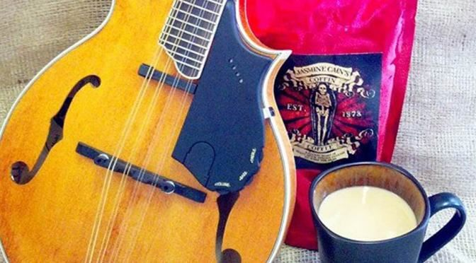 Coffin Coffee And Mandolins A Great Pair