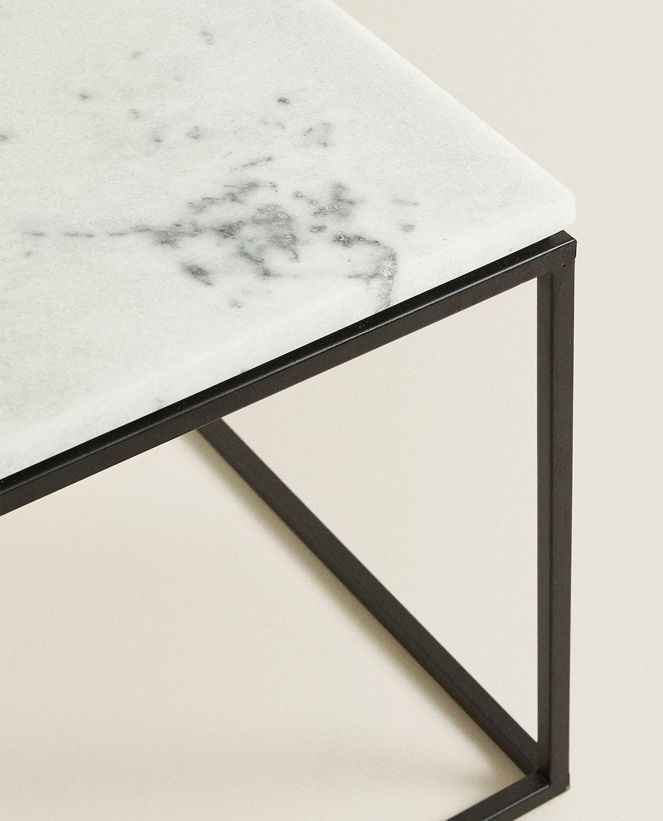 Black Marble Table In 2020 Black Marble Coffee Table Black Marble Table