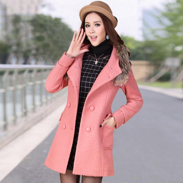 Veste laine longue femme pas cher