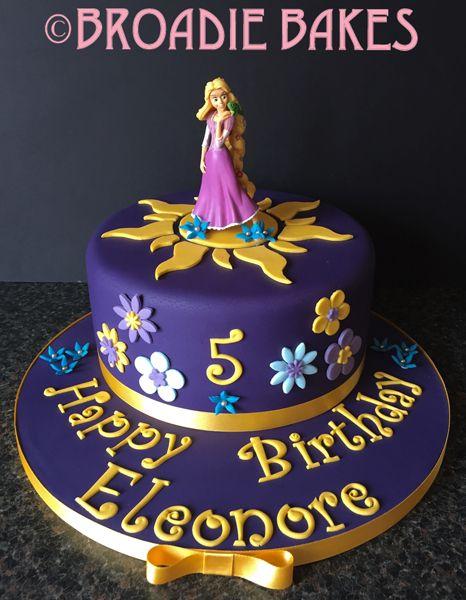 Magnificent Tangled Cake Buscar Con Google Cake Rapunzel Birthday Cake Funny Birthday Cards Online Alyptdamsfinfo
