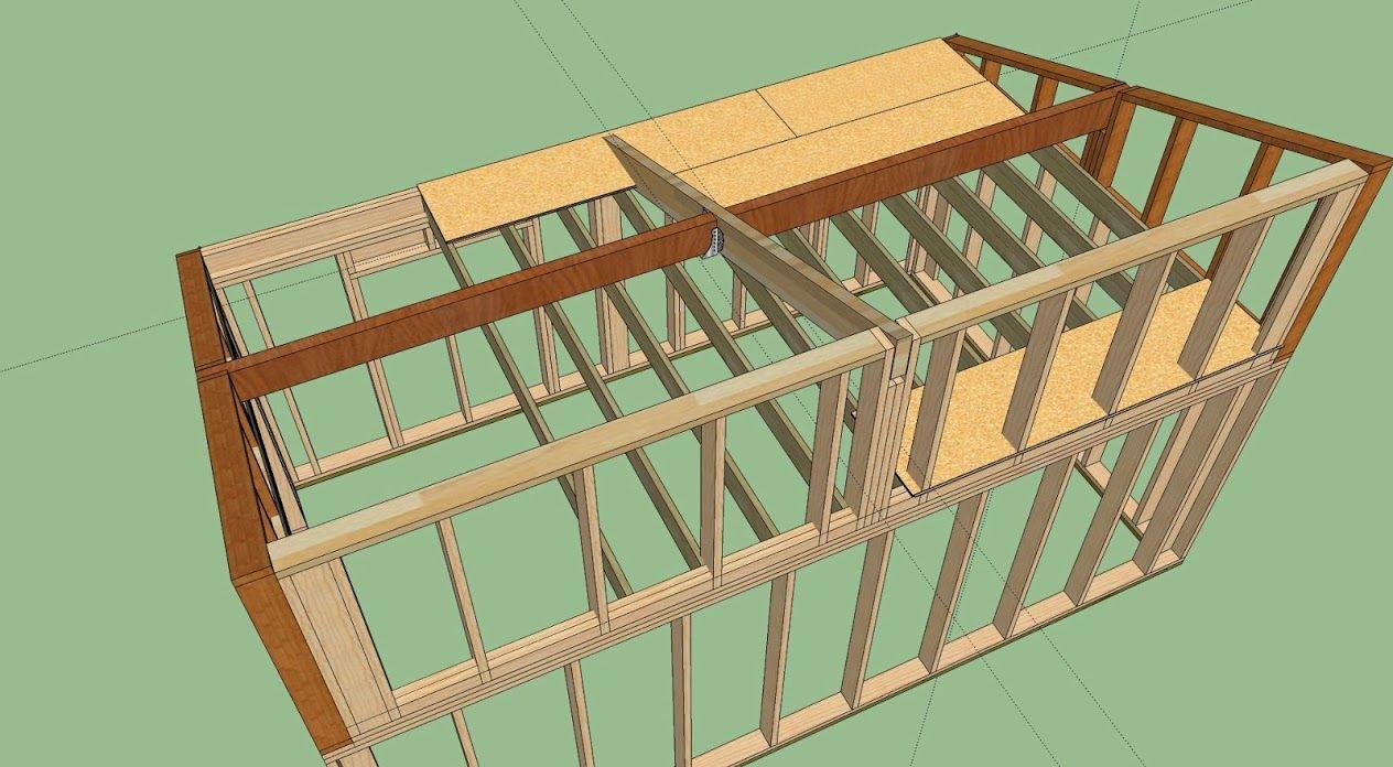 R alisation garage ossature bois avis et conseil pour for Construire un garage en ossature bois