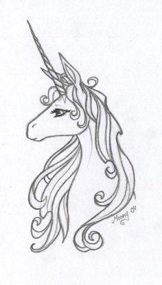 Unicorn Tattoos On Pinterest Flamingo Tattoo Kawaii