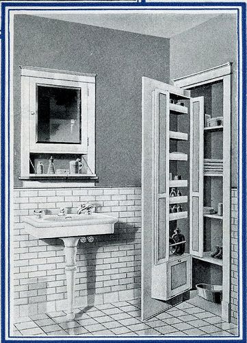 1920 S Bath Storage Quot Here Is A Bathroom Cabinet That Is