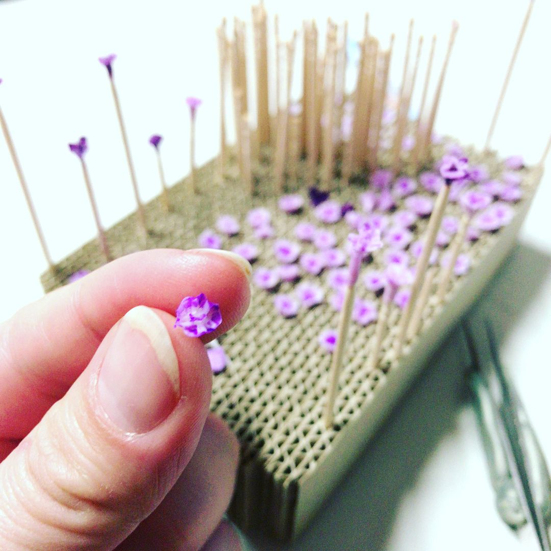 Miniature Flowers By Seakarats Making Fabric Flowers