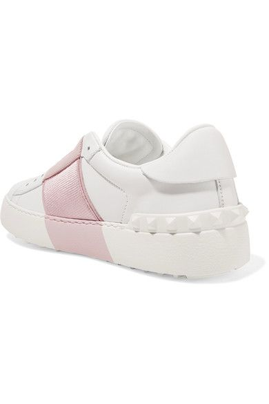 07acc5038ba0 Valentino - Leather Slip-on Sneakers - White - IT