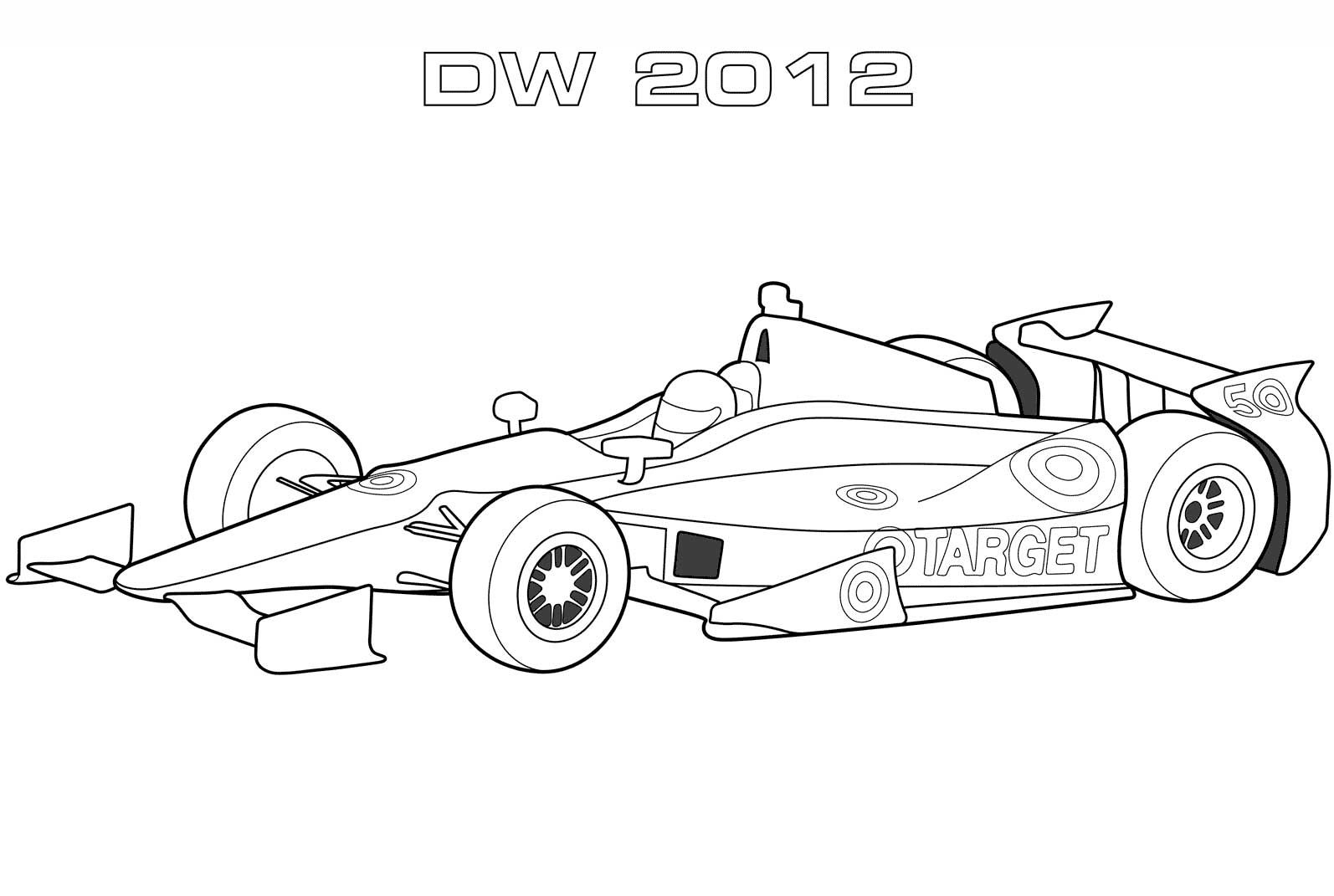 Dallara Dw12 Indy Car Helpful Coloring Race Car Coloring Pages Cars Coloring Pages Sports Coloring Pages