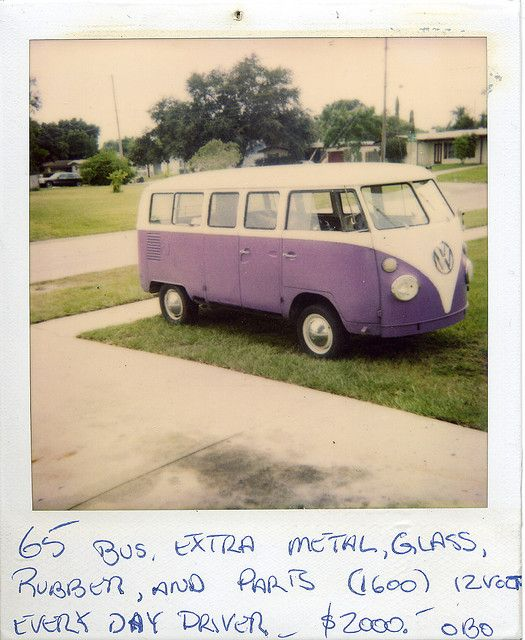 Polaroid Bus | Flickr - Photo Sharing!