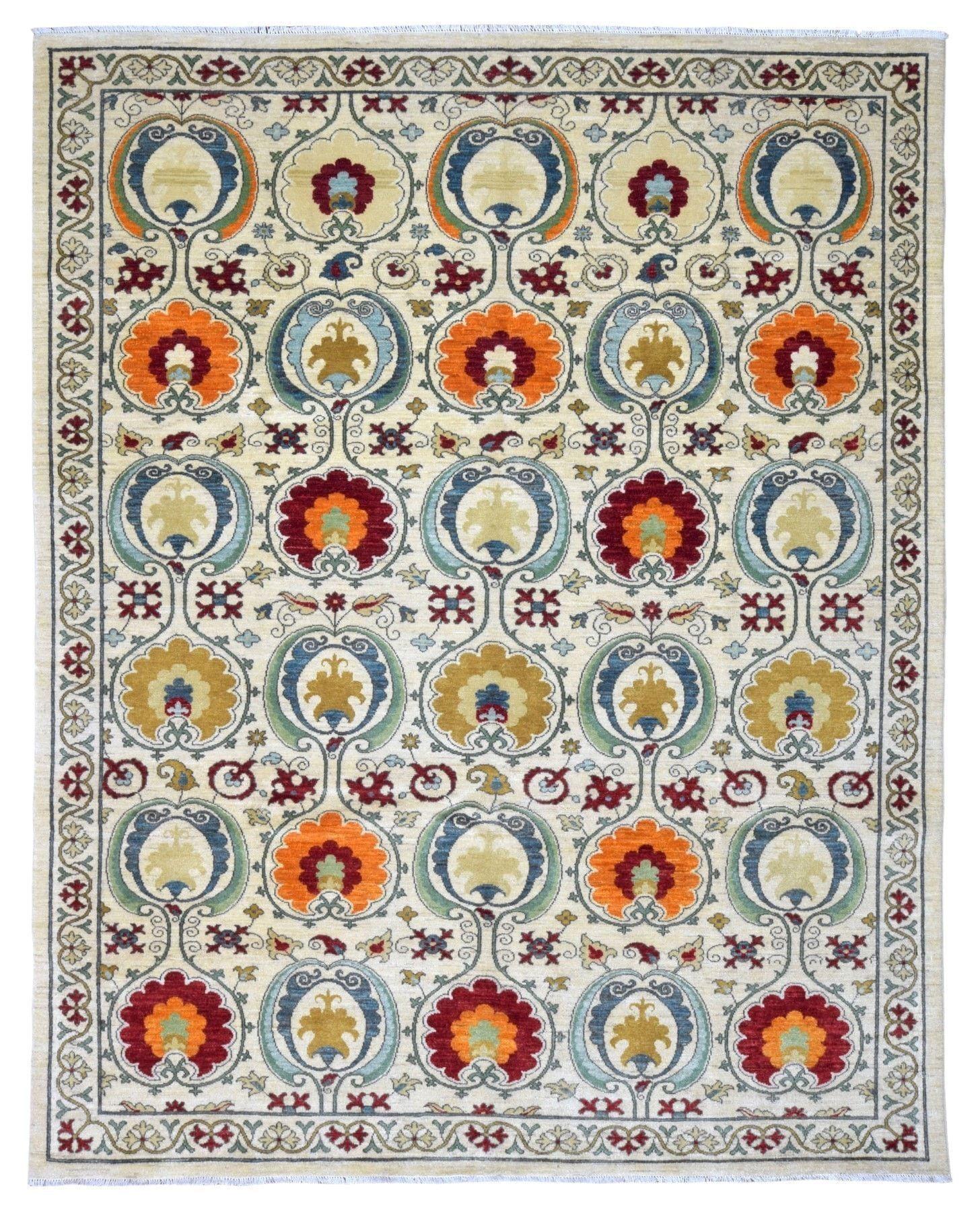 Very Fine Pakistan Tribal Design Oriental Rug 8'1X10'