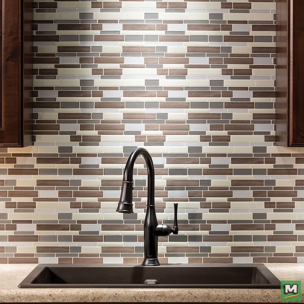 Refresh your kitchen with Tack Tile Peel & Stick vinyl