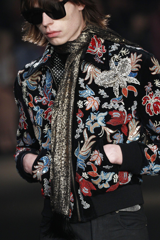 Saint Laurent Fall 2016 Menswear Fashion Show in 2019   Menswear ... 1f4d0d60878b