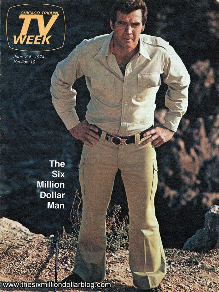 Lee Majors Is The One And Only True Steve Austin The Six Million Dollar Man On Tv Week Men Tv Lee Majors Bionic Woman