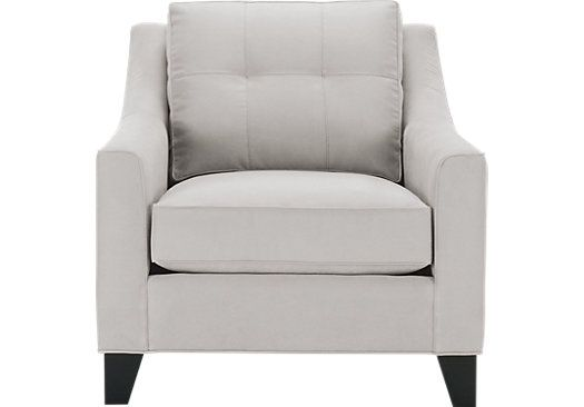 picture of Cindy Crawford Home Madison Place Platinum Chair  from Chairs Furniture