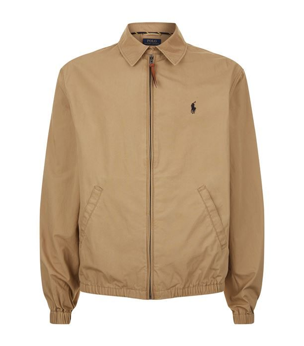 differently a9f54 79b8c Polo Ralph Lauren Logo Jacket available to buy at Harrods ...