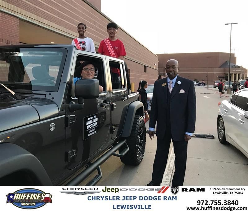 Happy Anniversary To From Fred Whitfield At Huffines Chrysler Jeep