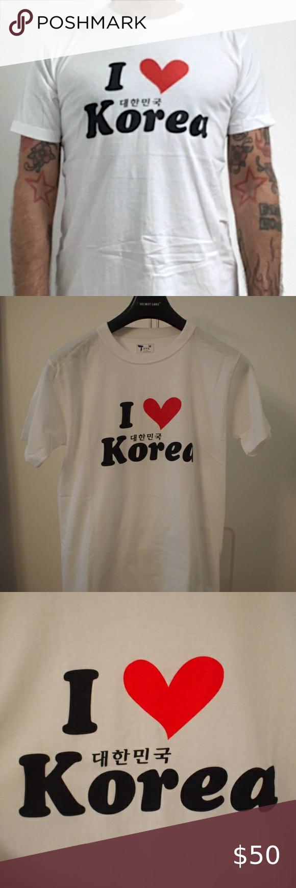 Baju Logo Love Merah