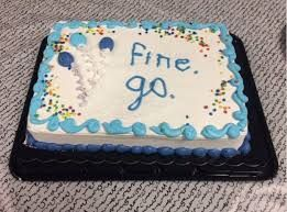 Image Result For Funny Going Away Cake Ideas Farewell Cakes - 18 savage cakes that get straight to the point