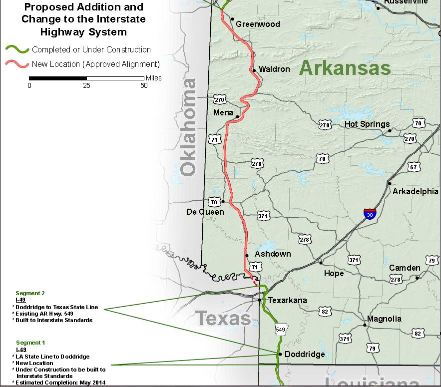 I 49 corridor map arkansas re texarkana future i 49 i 69 spur i 49 corridor map arkansas re texarkana future i 49 publicscrutiny Choice Image