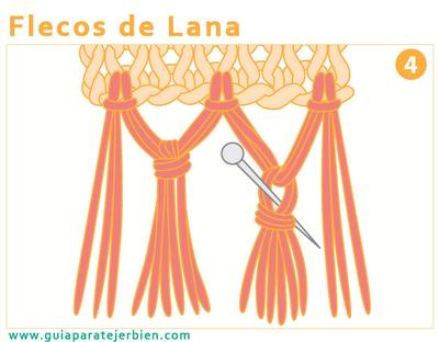 flecos de lana gu a para tejer bien nudos   knots
