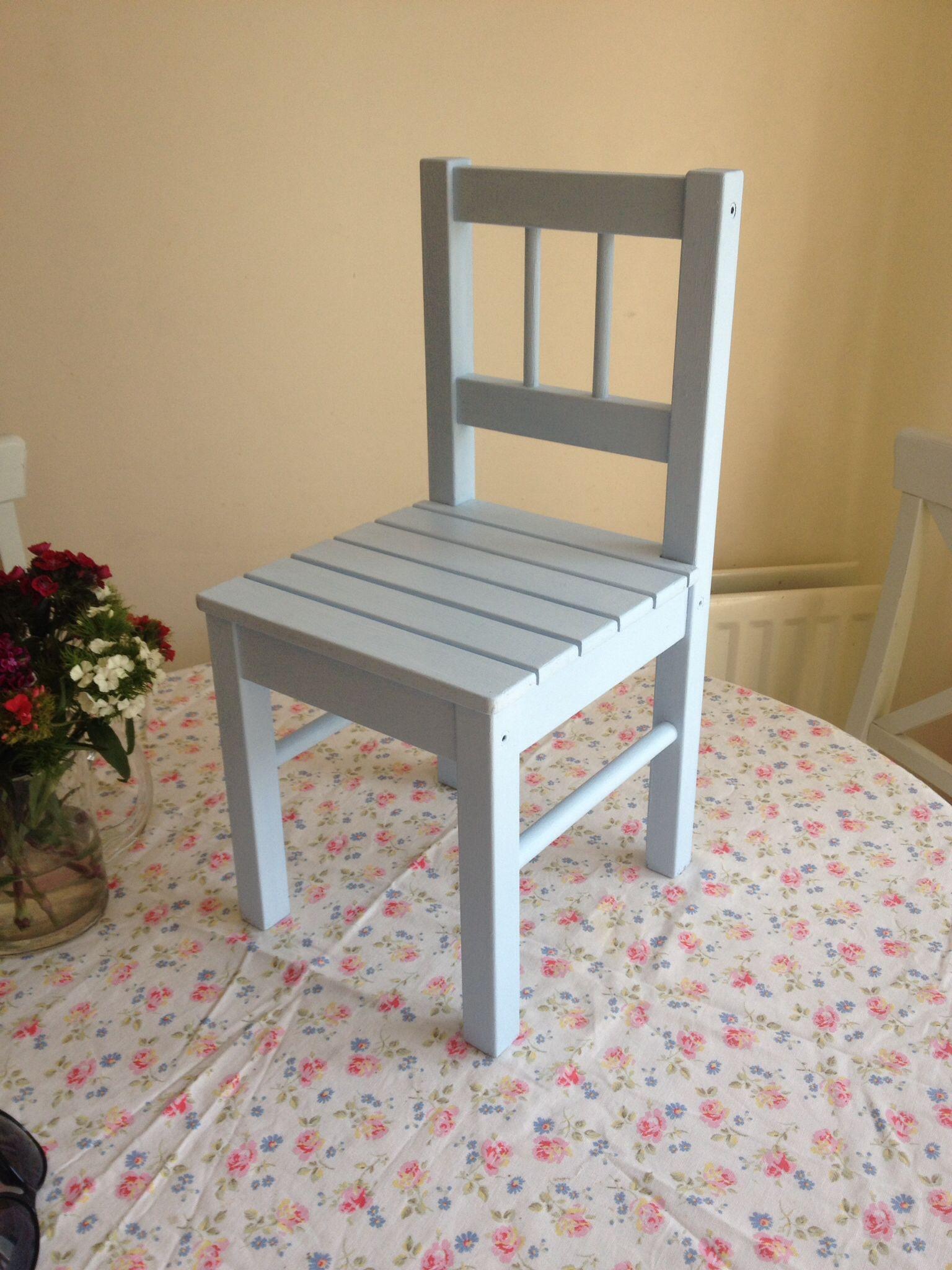 Upcycled IKEA kid's chair