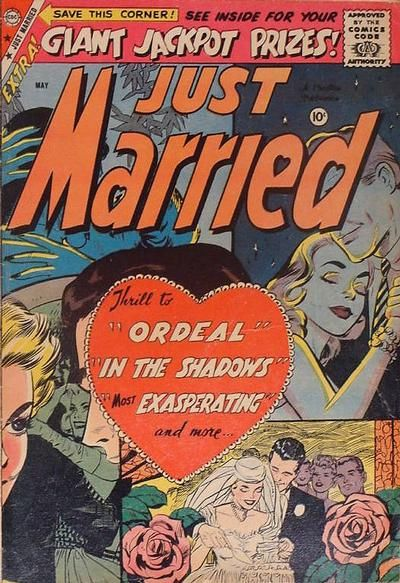 """""""Ordeal,"""" """"In the Shadows"""" """"Exasperating"""" -- seems like a pretty realistic comic for  young marrieds."""