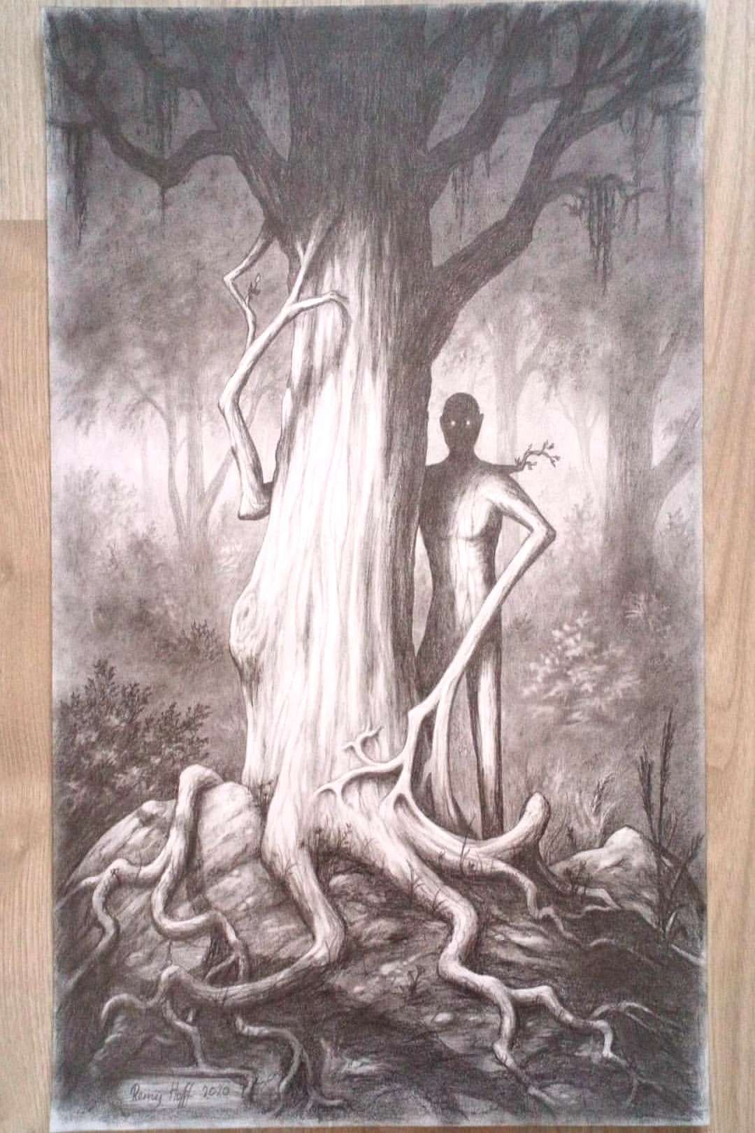 #pencildrawing #pencilsketch #february #drawing #pencil #232020 #trees #photo #sket #remy #hoff #art #a3 #by #on A3 pencil drawing. #pencildrawing #pencilsketch #art #trees #sketYou can find Dark fores...