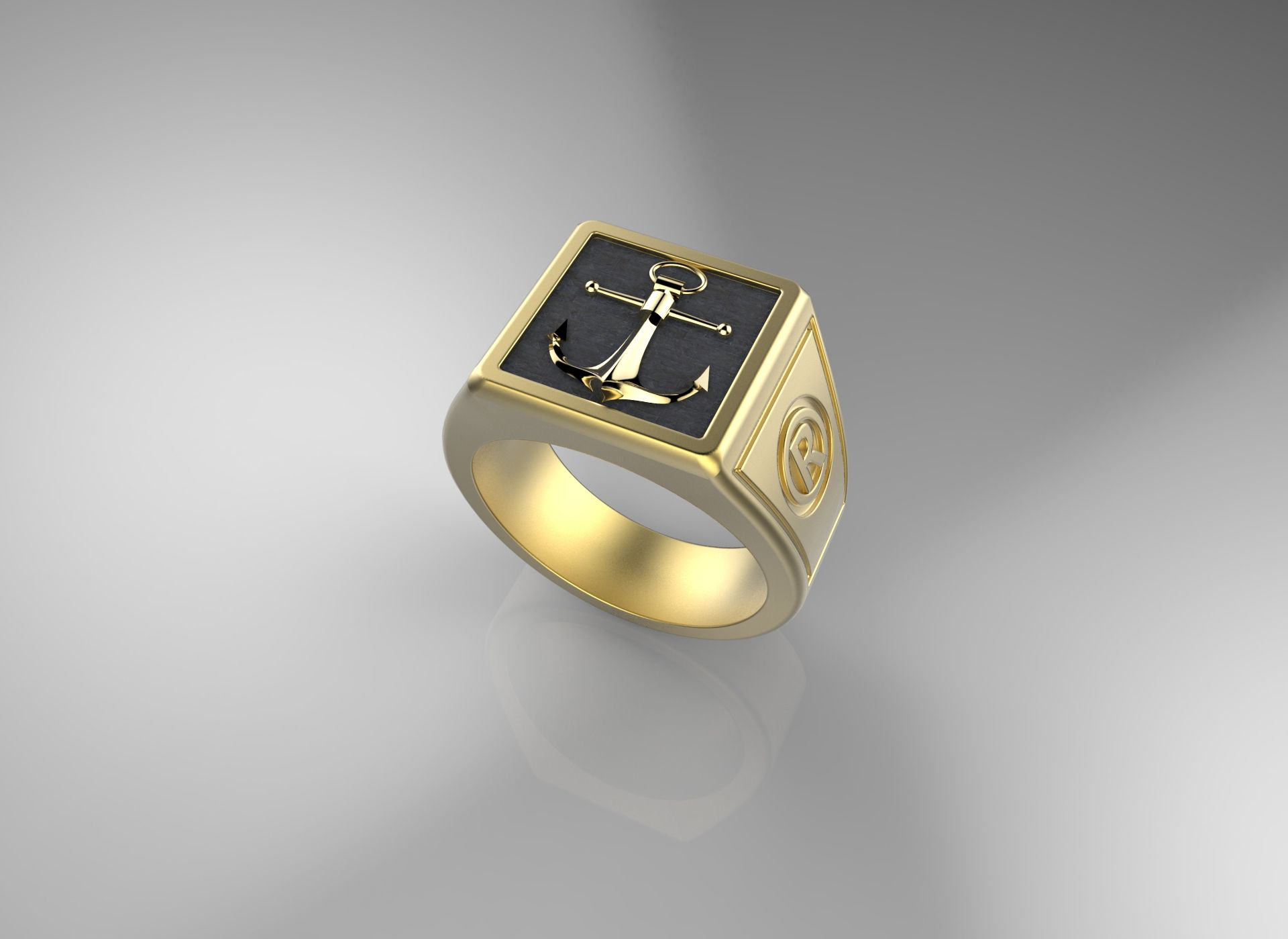 Square ring men ring russell jewelry pinterest