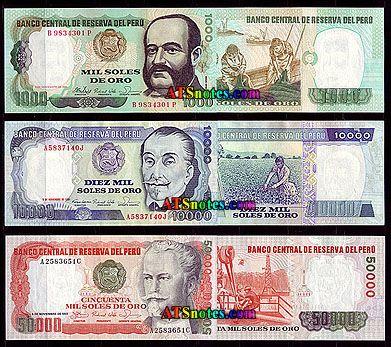 Peru Money World Paper Catalog And History