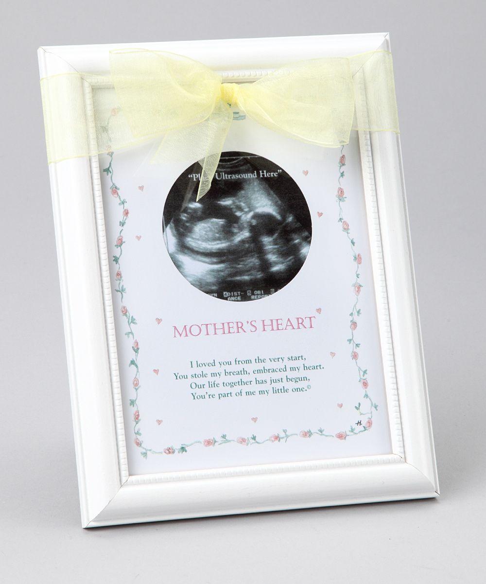 Mothers heart ultrasound frame baby shower ideas pinterest mothers heart ultrasound frame negle Images