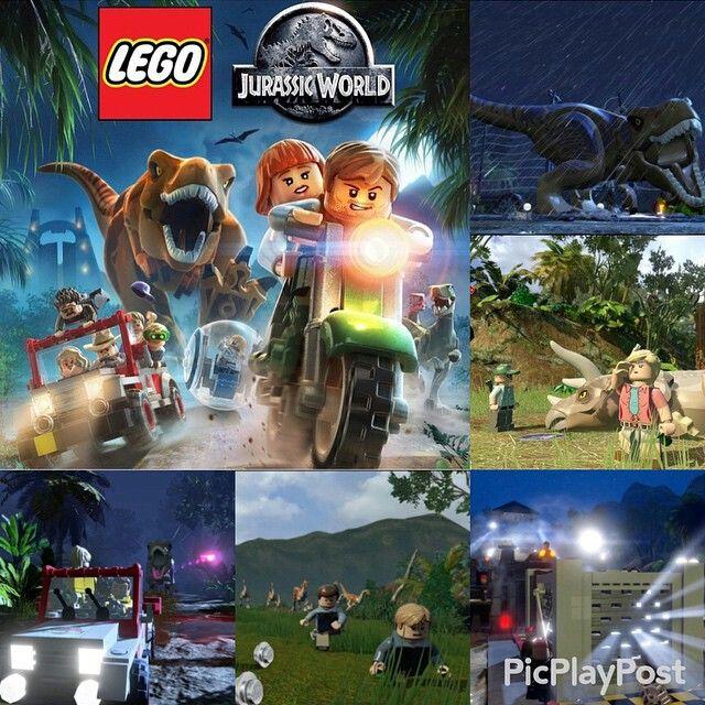 Jurassic World - The Jurassic World Lego Game featuring Jurassic Park, TLWJP2, and JPIII