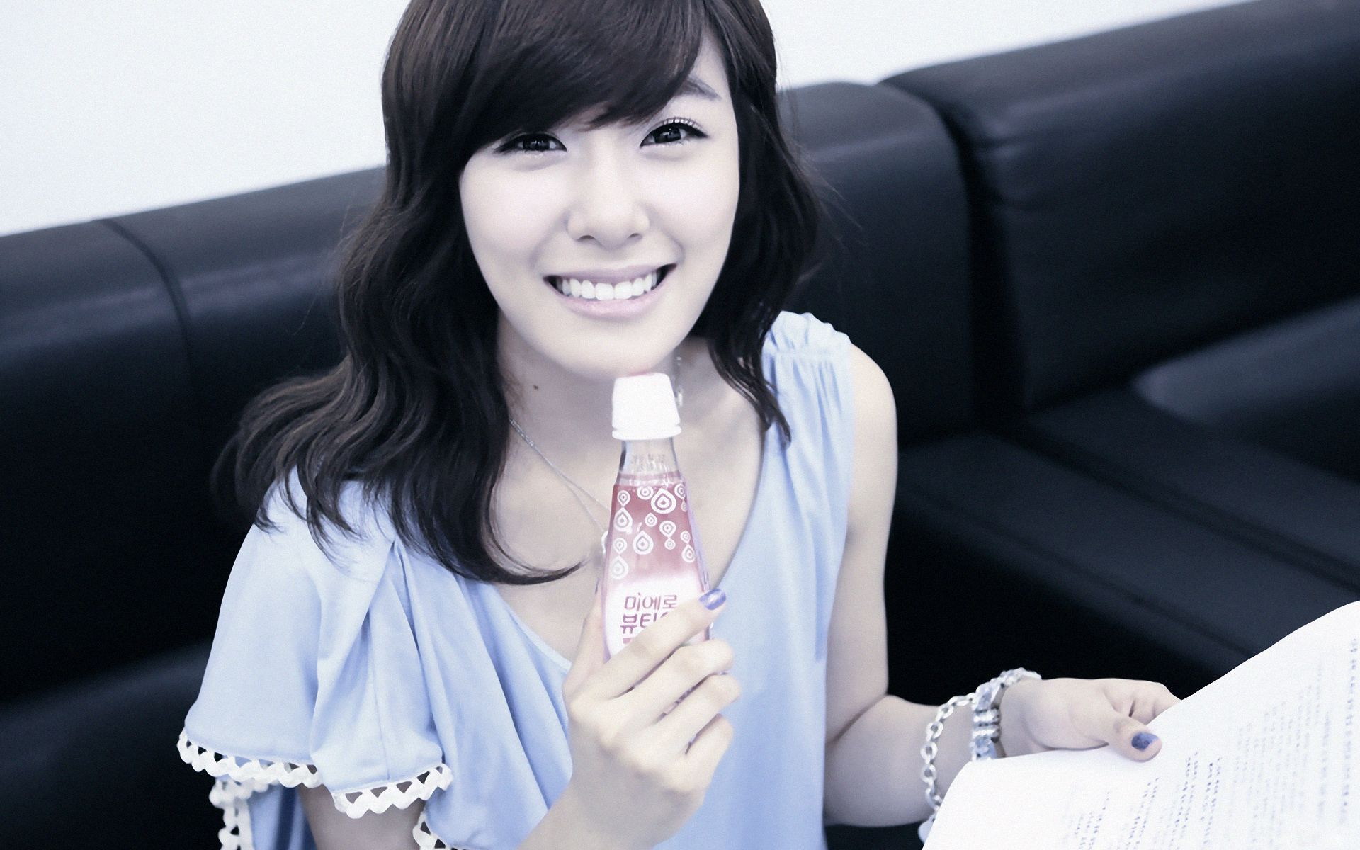 This is a picture of Tiffany Hwang from the Kpop girl band ...