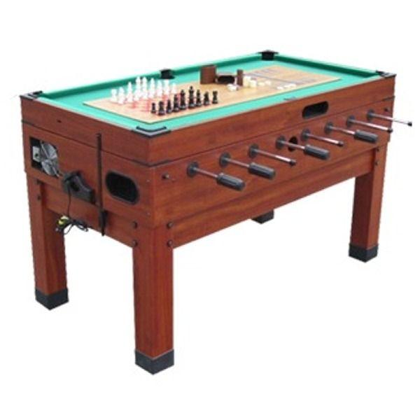 Captivating Danbury 13 In 1 Combination Multi Game Table   Model 13IN1