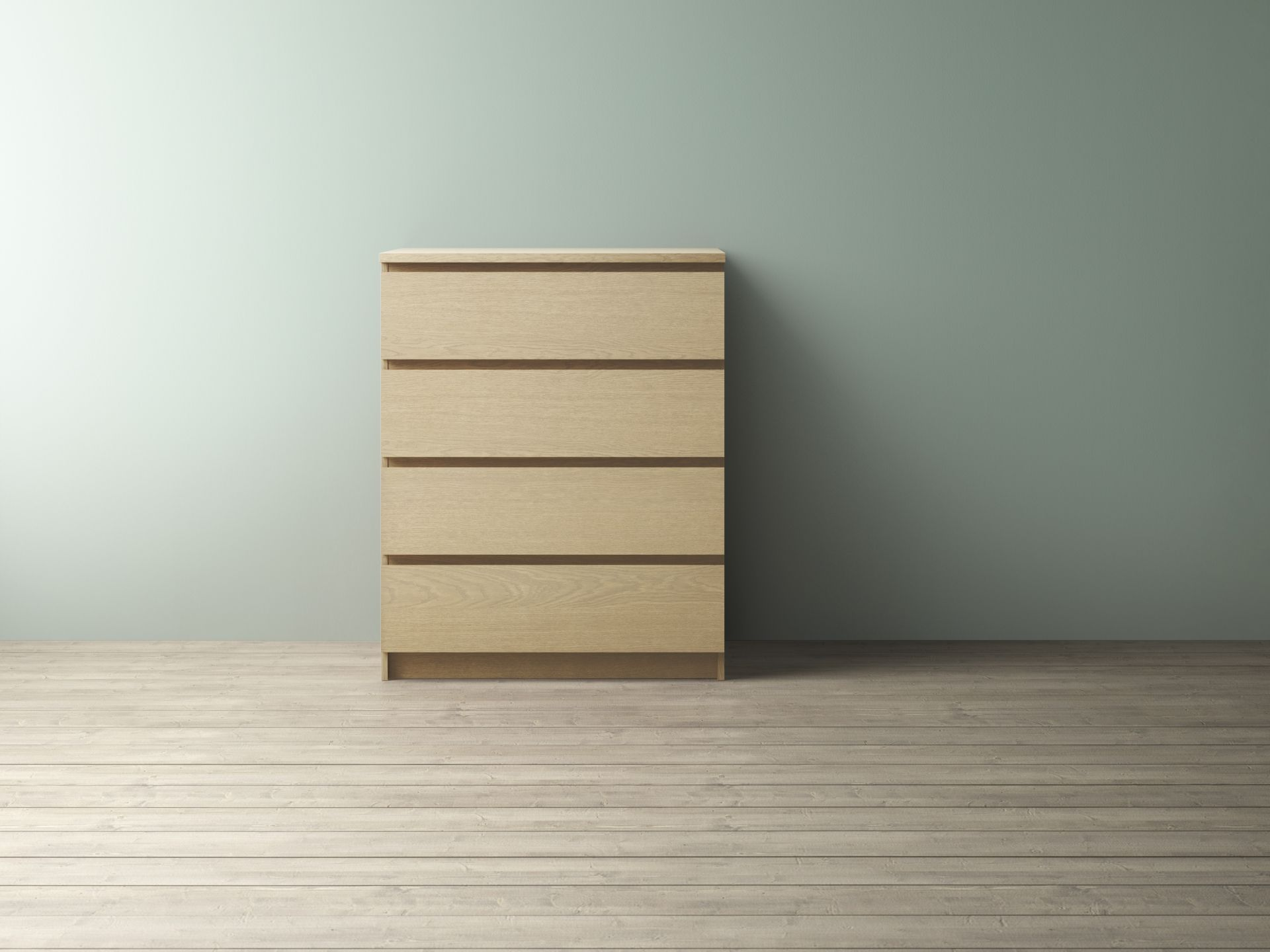 Slaapkamer Commode Ikea : Malm ladekast met 4 lades wit gelazuurd eikenfineer ikea