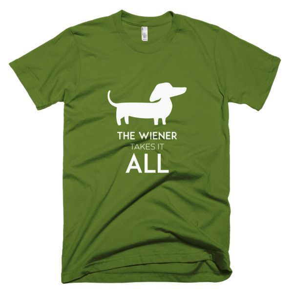 TAKES IT ALL tee