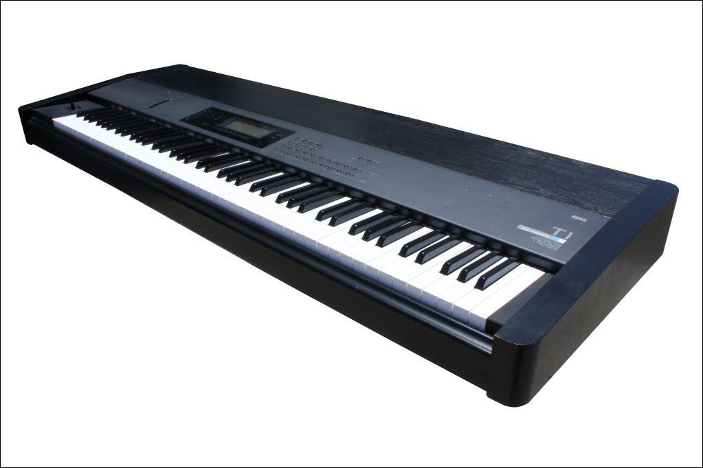 Korg T1 Music Workstation Synthesizer Korg Best Piano Keyboard