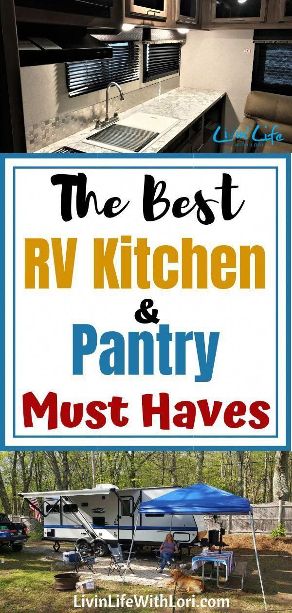 Photo of The Best RV Kitchen and Pantry Must-Haves | Livin' Life With Lori