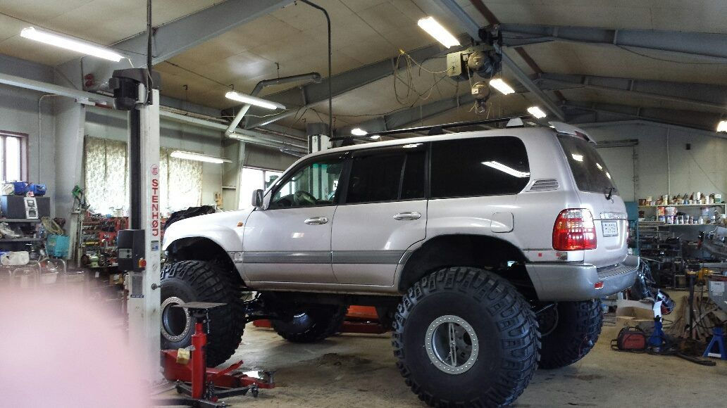 A Monster In The Making Toyota Trucks Land Cruiser Toyota Lc