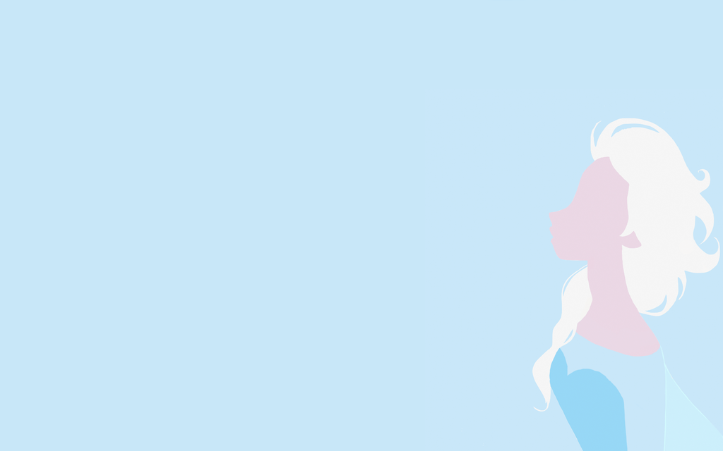 Elsa Minimalist Wallpaper By Tigersnow66