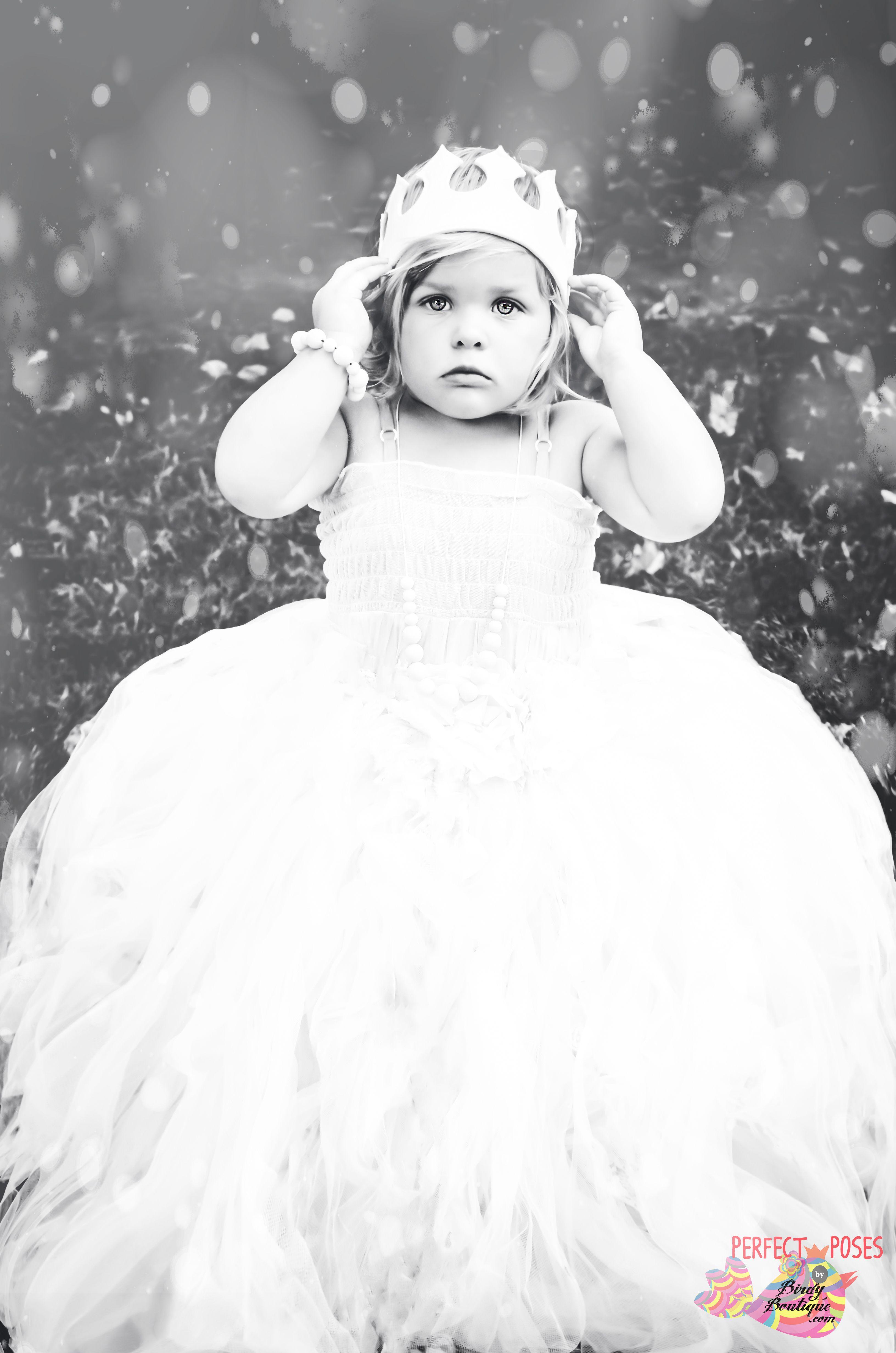 snow princess toddler baby girls 1 year old 18 month