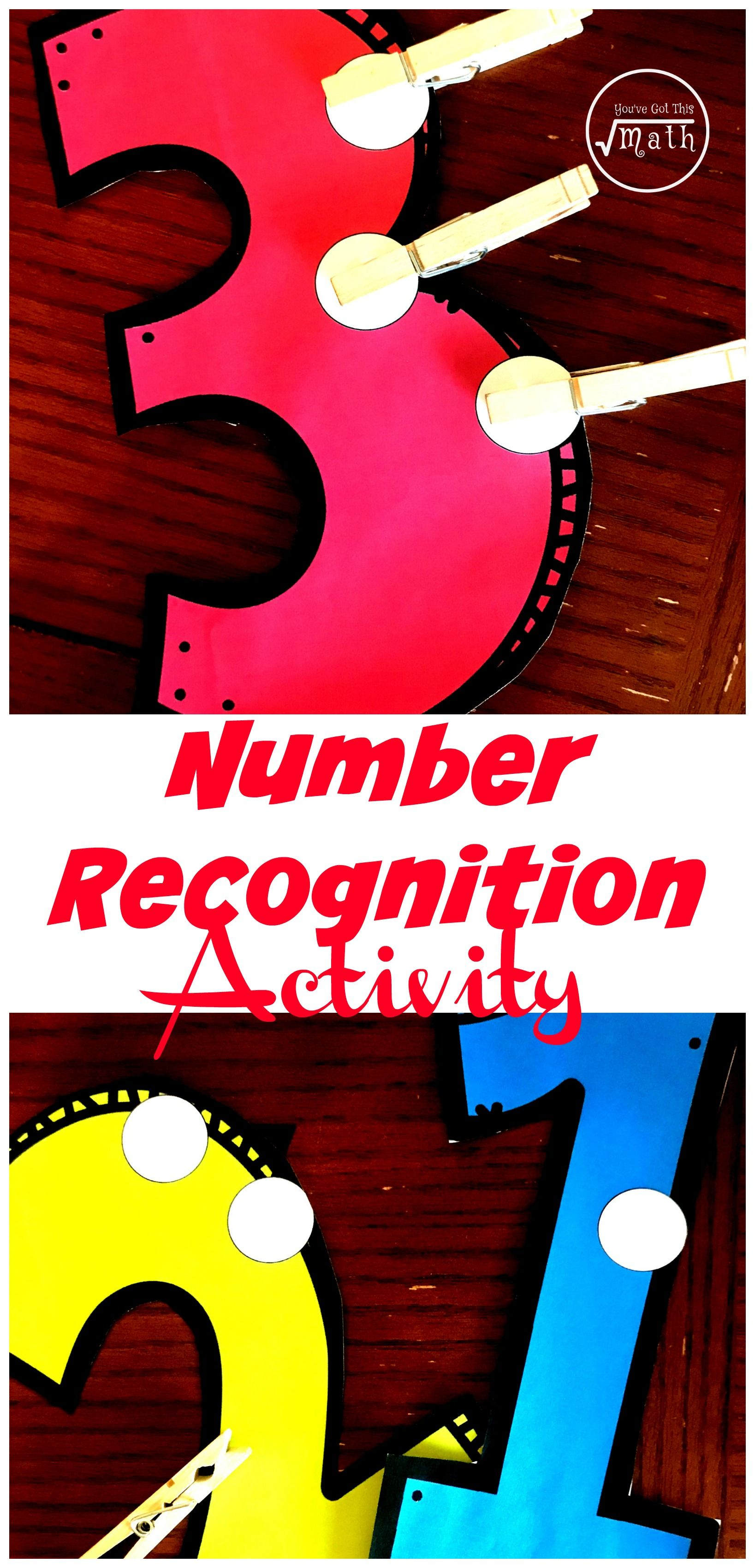 Free Engaging Fine Motor Skills Number Recognition