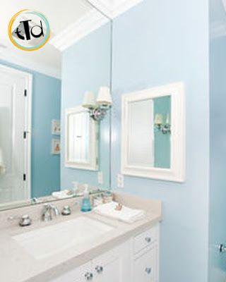 Il colore carta da zucchero perfetto per le pareti del bagno scegliete le tonalit chiare di - Bagno carta da zucchero ...