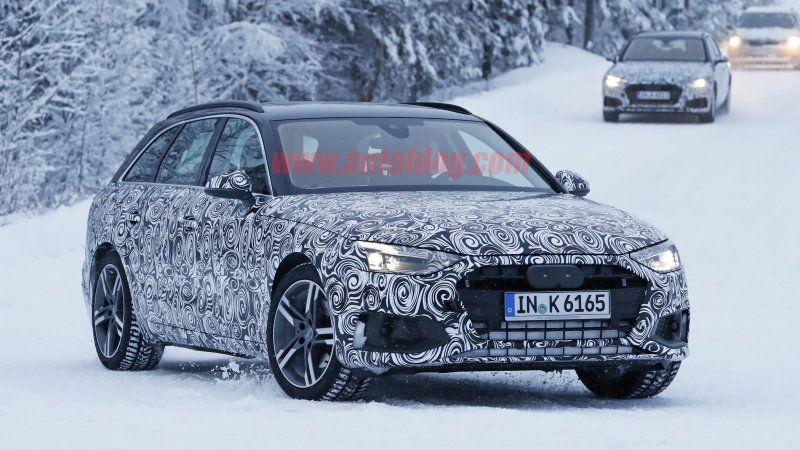 2020 Audi A4 Avant Shows Updated Design Audi A4 Avant Audi A4 A4 Avant