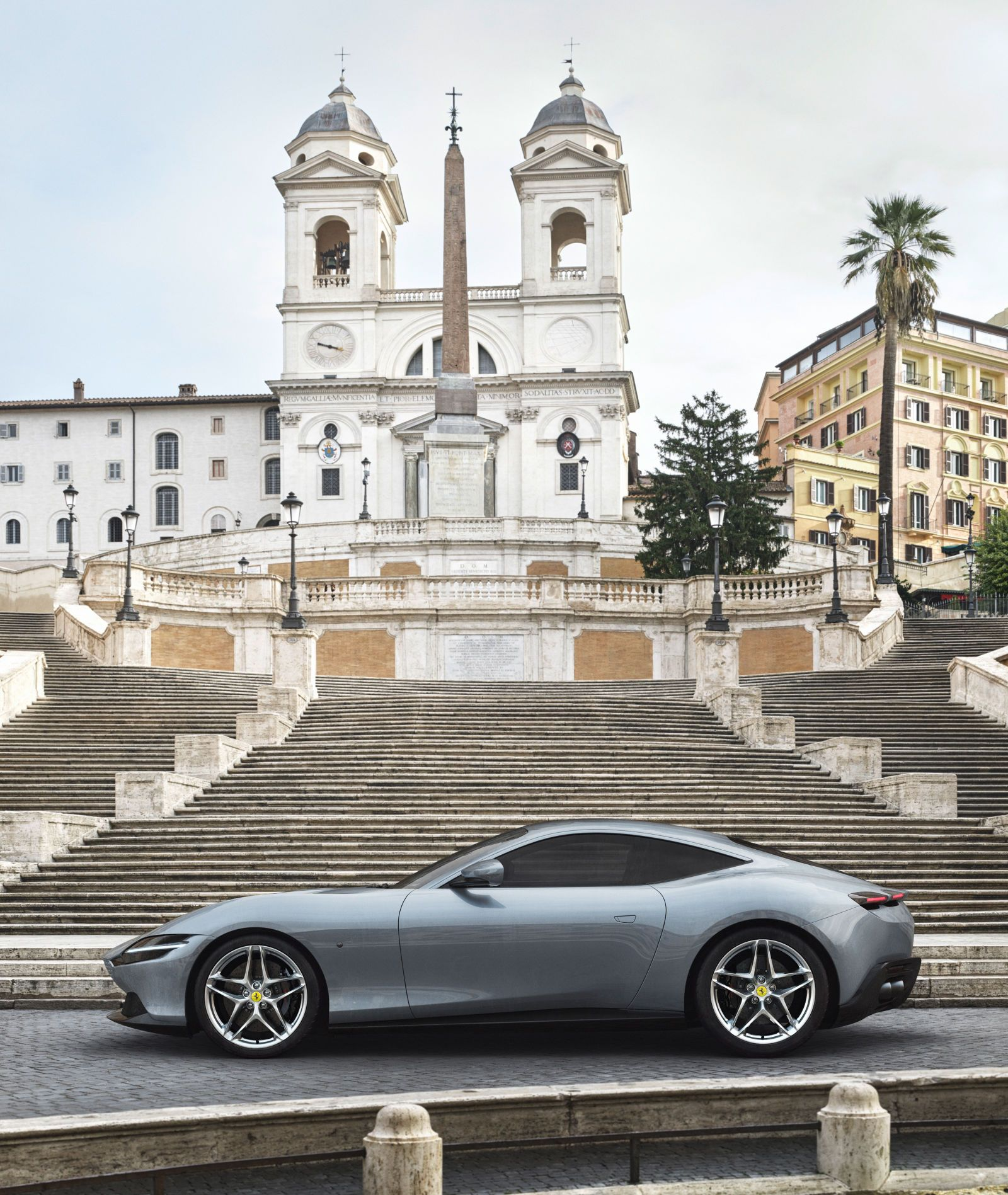 The New Ferrari Roma Is A Swoopy And Classy Road Trip Supercar #newferrari