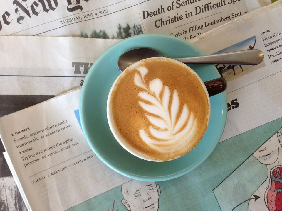 Cafe De Leche hosts Stumptown Coffee at their trendy cafe in Highland Park. Latte anyone?
