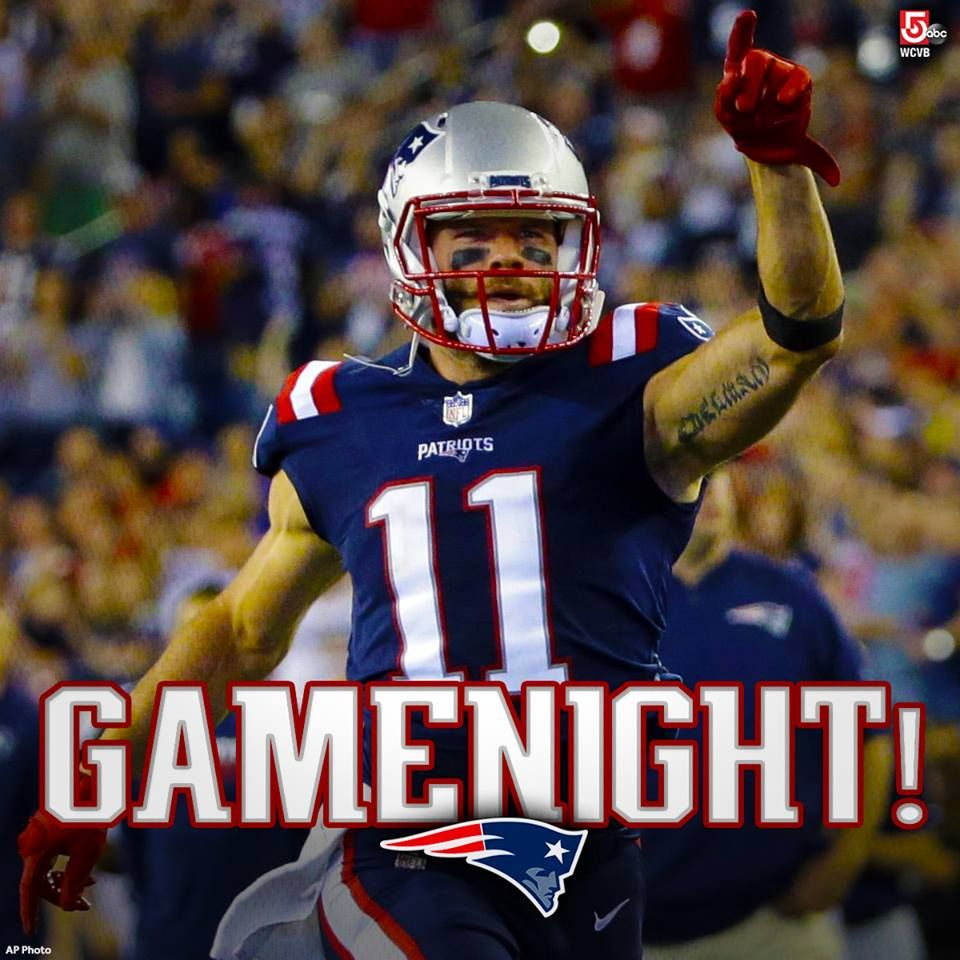 We Can T Wait To See Julian Edelman Back On The Field Tonight Just A Few Days After Beating The Dolphins The New En New England Patriots Patriots New England