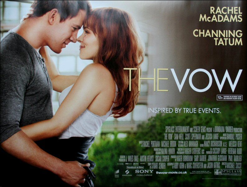 The Vow 2012 Christian Bible Family Movies Family Movies Romantic Films Romantic Movies