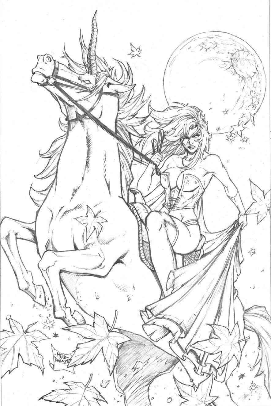 grimm fairy tales 43 pencils by squirrelshaver