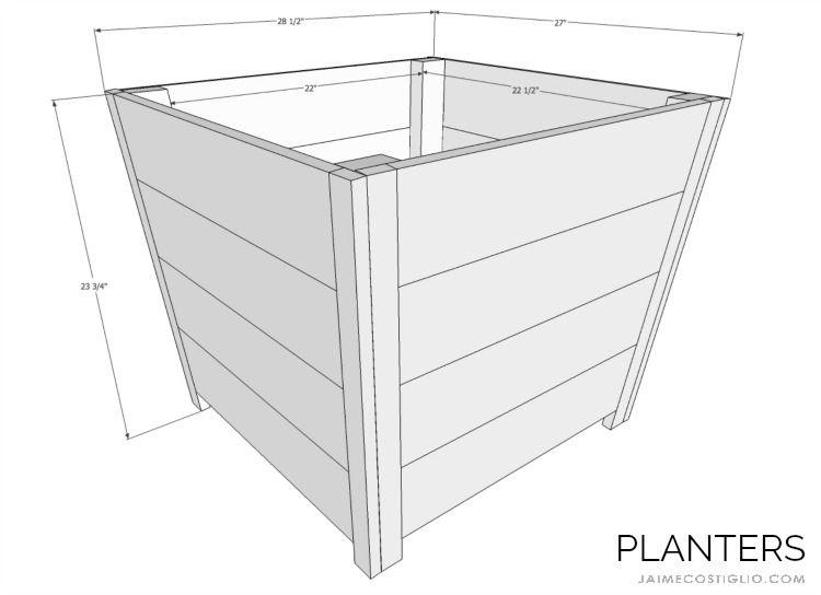 Best Diy Exterior Cedar Planters Diy Wooden Planters Cedar 400 x 300